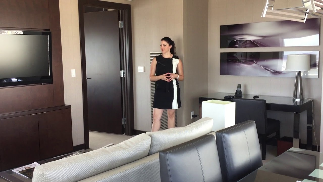 las vegas penthouse suite for sale in vdara take a tour with lauren