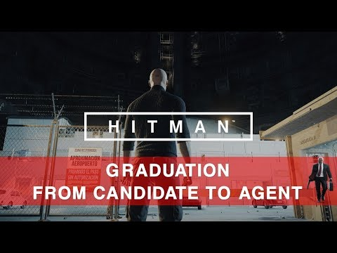 Hitman Featured Contract Graduation from Candidate to Agent sa/so Only Gameplay 4K PC