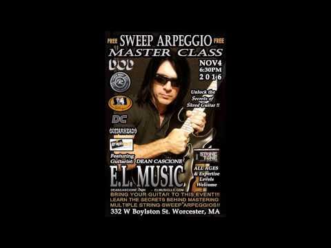 Dean Cascione Arpeggio Master Class Guitar Clinic E.L. Music 11/4/16