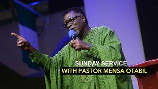 SUNDAY SERVICE - Live  Pastor Mensa Otabil