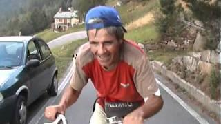 Salita del Mortirolo con bici Graziella di Franco Cacciatori in ricordo a Marco Pantani! thumbnail