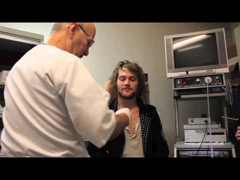 Danny Worsnop Vocal Chord Check Up