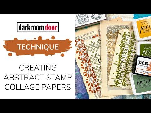 Darkroom Door Stamped Papers
