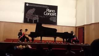 TRONG COM DUO PIANO by UYEN SA & HOANG DUNG