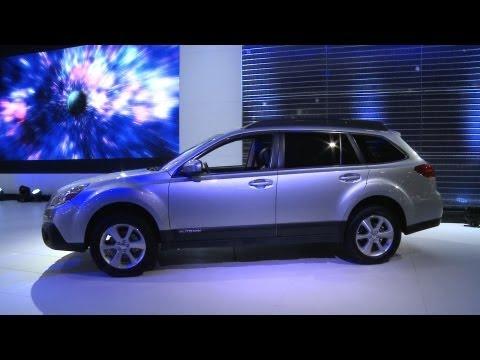 NY Auto Show: 2013 Subaru Outback | Consumer Reports