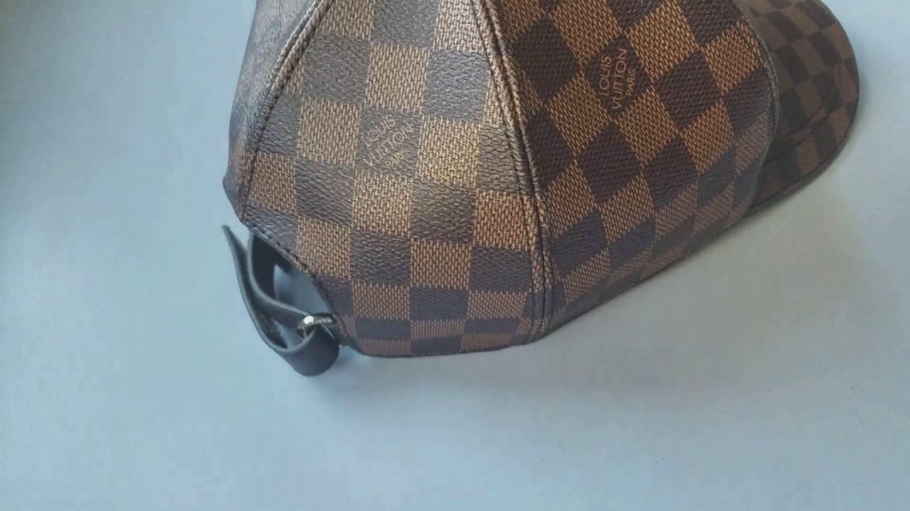 Hottest louis Vuitton Baseball Cap Leather - YouTube e6123f62351c