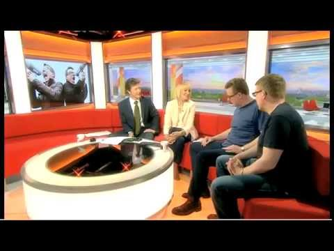 The Proclaimers on BBC Breakfast TV,  20th June 2013.
