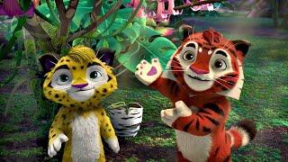 Лео и Тиг сборник серий с 43 по 45 Детям про животных Мультфильм HD