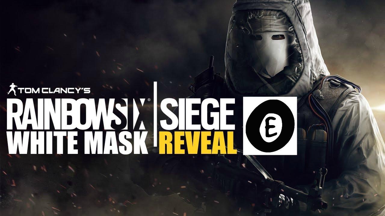 tom clancy s rainbow six siege white mask reveal trailer youtube