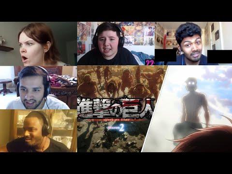 Attack On Titan :Shingeki No Kyojin Season 2 Episode 12 Reaction