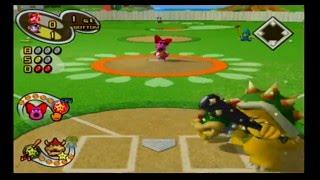 Repeat youtube video Mario Superstar Baseball Exhibition Game 10 - Wario Beasts VS Birdo Beauties