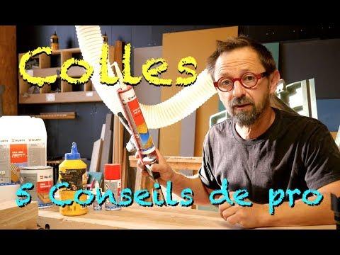 5 CONSEILS DE MENUISIER : LE COLLAGE