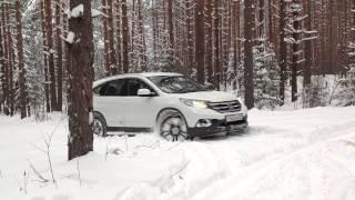 Honda CR-V Премьерный тест-драйв (Владимир-Москва) 30.11.2012