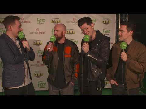 Do The Script have any famous fans? - Free Radio Live 2017