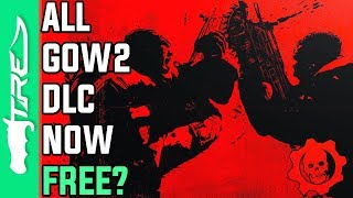 ALL GEARS OF WAR 2 MAP DLC IS AVAILABLE FOR FREE! (Gears of War 2 Xbox One News)
