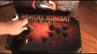 Mortal Kombat Tournament Edition Unboxing - Arcade Fightstick - Xbox 360