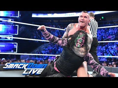 Rey Mysterio & Jeff Hardy vs. Randy Orton & The Miz: SmackDown LIVE, Oct. 30, 2018