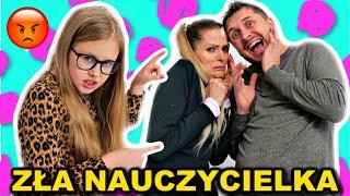 ZŁA  NAUCZYCIELKA  * szkoła parodia * zła Lenka odc. 3