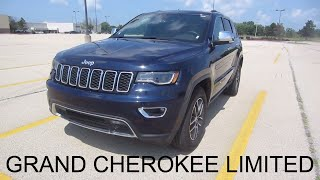 2017 JEEP Grand Cherokee Limited 4x4 3.6L V6 SUV | Rental Car Review