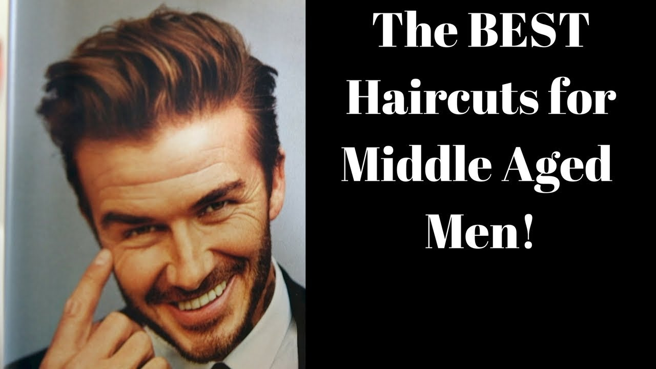 The Best Haircuts For Middle Aged Men Thesalonguy Youtube