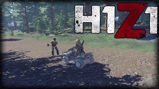 H1z1 Just Survive Ep. 5 - Finally Started Building! (PvE on Willamette)