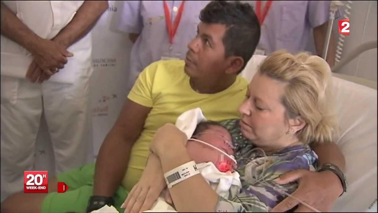 maria lorena 6 2 kg a la naissance le plus gros bebe au. Black Bedroom Furniture Sets. Home Design Ideas