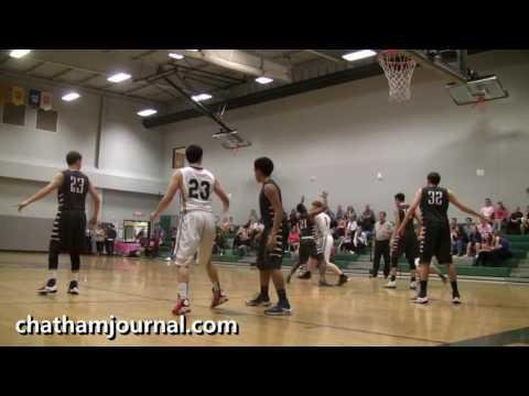 Woods Charter School vs East Wake Academy Basketball Game - 1/18/17