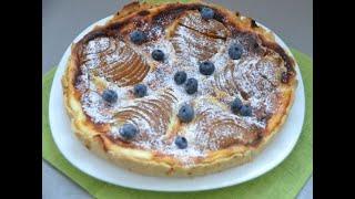 Пирог с грушей и сыром Лучшие рецепты