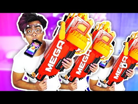 ROLLING SKY CHALLENGE | Nerf My Brother