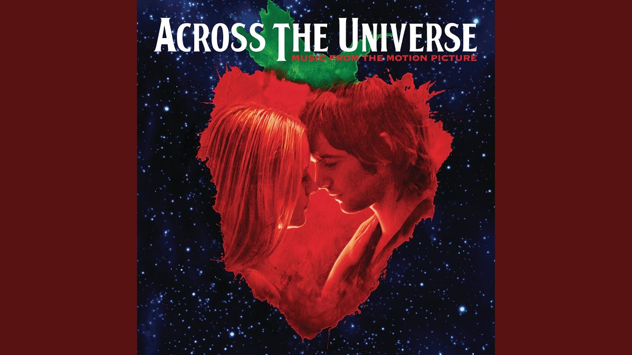 across the universe all you Words are flowing out like endless rain into a paper cup, they slither while they pass, they slip away across the universe pools of sorrow waves of joy are drifting through my opened mind,.