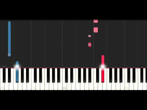 Chris Brown - Questions (SLOW EASY PIANO TUTORIAL)