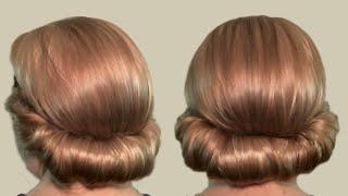 Прическа в греческом стиле: как сделать (видео). Greek-style hairstyle for medium hair.(Греческая прическа с повязкой для волос своими руками выполняется просто. Как сделать греческую прическу..., 2013-01-06T17:06:30.000Z)