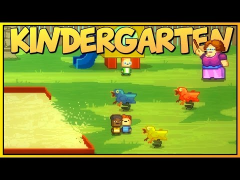 Kindergarten - RIDDLE OF THE KILLER DUCKS - Killer Janitor [Let's Play Kindergarten Gameplay]