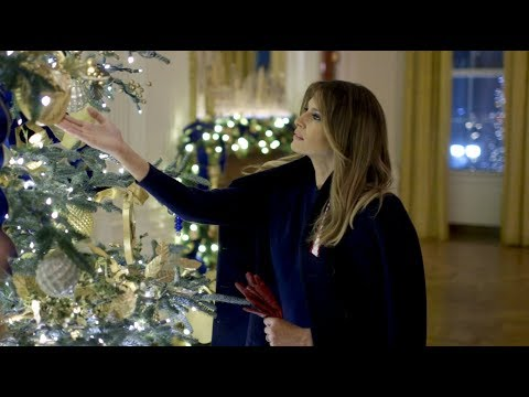 2018 Christmas Decorations at the White House