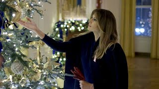 Download 2018 Christmas Decorations at the White House Mp3 and Videos