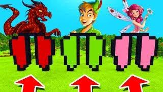 Minecraft PE : DO NOT CHOOSE ELYTRA! (Dragon, Peter Pan & Fairy)