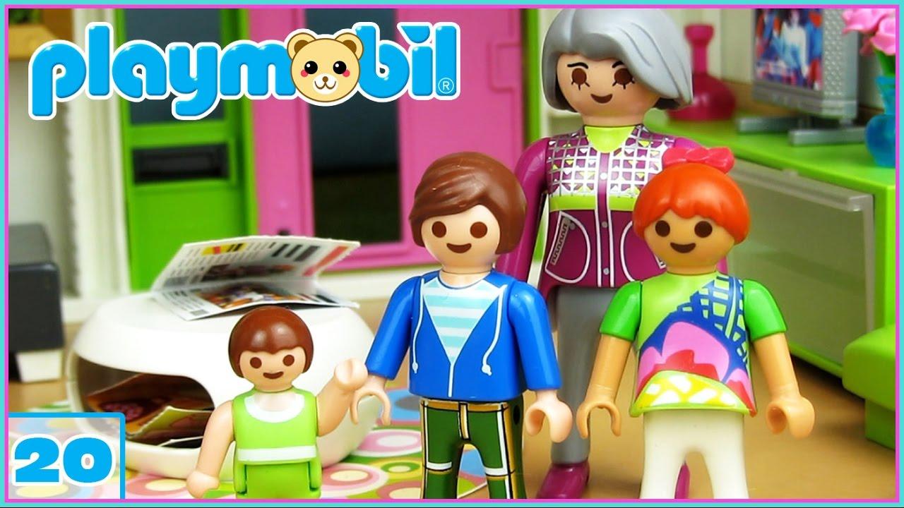 Playmobil 20 ayudamos a limpiar la casa nueva for La casa de playmobil