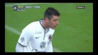 PSG-Caen 2-2 Les buts de Caen