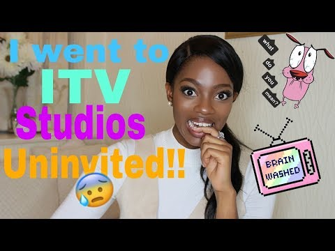 STORY TIME// GOING TO ITV STUDIOS UNINVITED// DETERMINED//SECURITY//TV WORK//LONDON