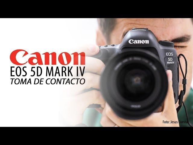 Canon EOS 5D Mark IV - Toma de contacto (Review)