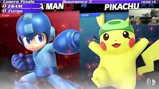 Resurgence 3 LF: Zurge (Megaman/Roy) vs ESAM (Pikachu)
