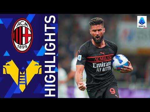 AC Milan Helas Verona Goals And Highlights