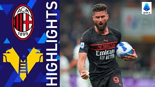Milan 3 2 Verona A thrilling win for the Rossoneri at San Siro Serie A 2021 22