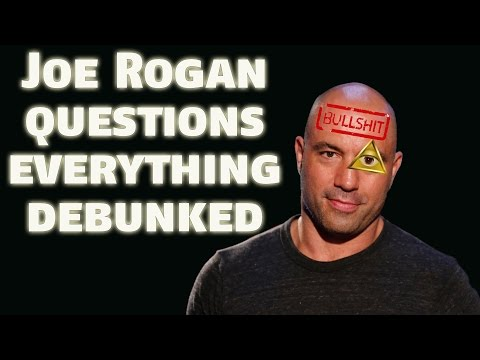 Joe Rogan Questions Everything | Chemtrail Episode Debunked ▶️️