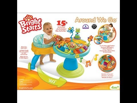 bcf53fd988a4 Bright Starts Doodle Bugs Around We Go Baby Activity Station Walmart ...