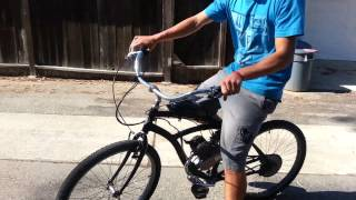 motorized bicycle operating instructions