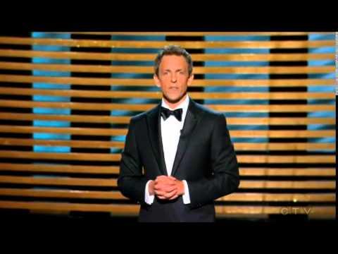 Emmy intro ft Seth Meyers opening monologue