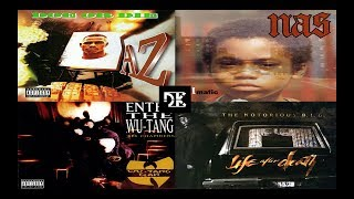 J Dilla- Life Ft AZ NAS Wu Tang Clan Notorious Big (NY's Greatest-Mashup Mix)