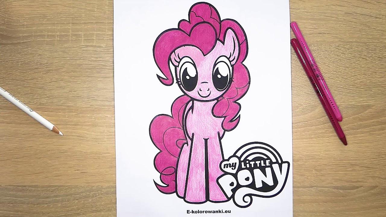 Darmowe Kolorowanki My Little Pony Do Wydruku
