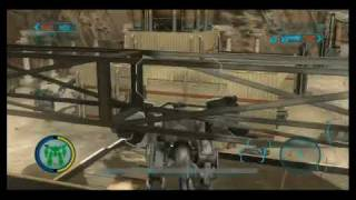 Front Mission Evolved - Industrial Zone, Sniper Gameplay